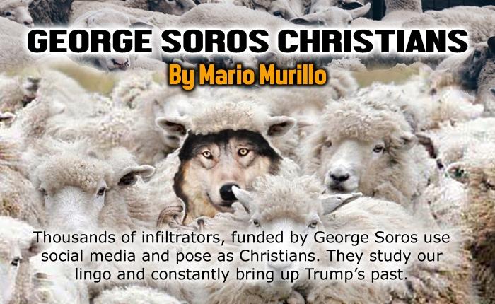 George Soros Christians